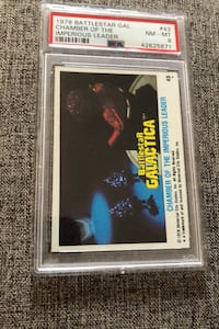1978 Battlestar Galactica #43 , Graded PSA NM-MT 8 chamber of the Imp Columbia, 21045