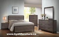 Brand New Wooden Bedroom Set - We deliver in GTA Toronto