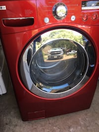 red front-load clothes washer Rockwall, 75087