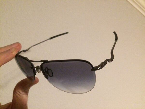 Oakley Aviator twisted wire framed sunglasses