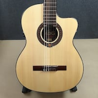 Lag OC400CE Occitania Classical Acoustic-Electric Guitar Nylon String OC400 Spruce Top Rosewood Body Edgewater, 21037