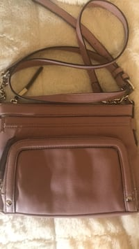 brown leather crossbody bag with wallet Providence, 02906