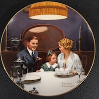 family Norman Rockwell printed decor Brentwood Bay, V8M 1A3
