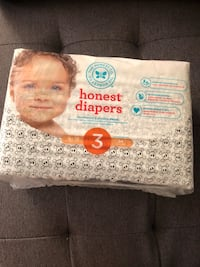 Unopened size 3 Honest diapers  Westchester, 60154