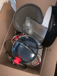 Used pot and pans. Must take the whole box and come to Alexandria VA  Alexandria, 22311