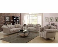 3pc Living room Set Sofa, Loveseat and chair Perth Amboy, 08861