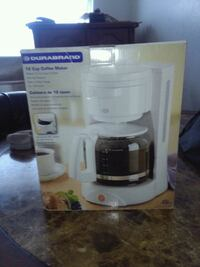 white and clear Durabrand coffeemaker box West Valley City, 84119