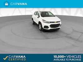 2017 Chevy Chevrolet Trax hatchback LS Sport Utility 4D White