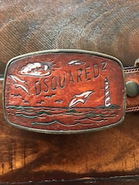 DSquared 2 -   100% leather, genuine product from Italy Dedham, 02026