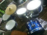 union. Drum set. In good shape. One foot pedal  Hagerstown, 21740