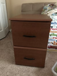 2 drawer file cabinet  Brunswick