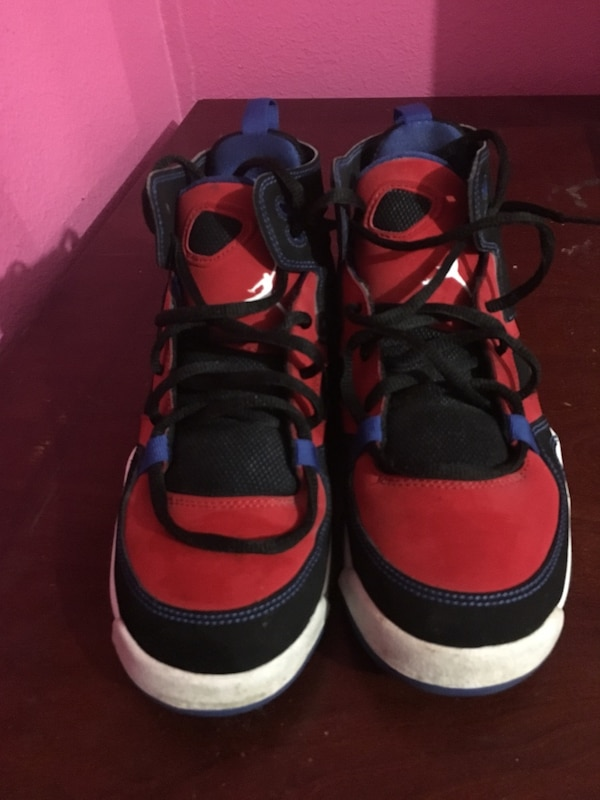 34b425b22ad3e6 Used Black and red nike air jordan retro 1 Authentic for sale in Spring  Hill - letgo