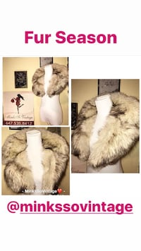 Fox Fur Collar  TORONTO