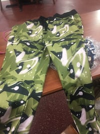 green and black camouflage jacket Capitol Heights, 20743