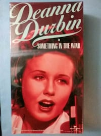 Something in the Wind vhs
