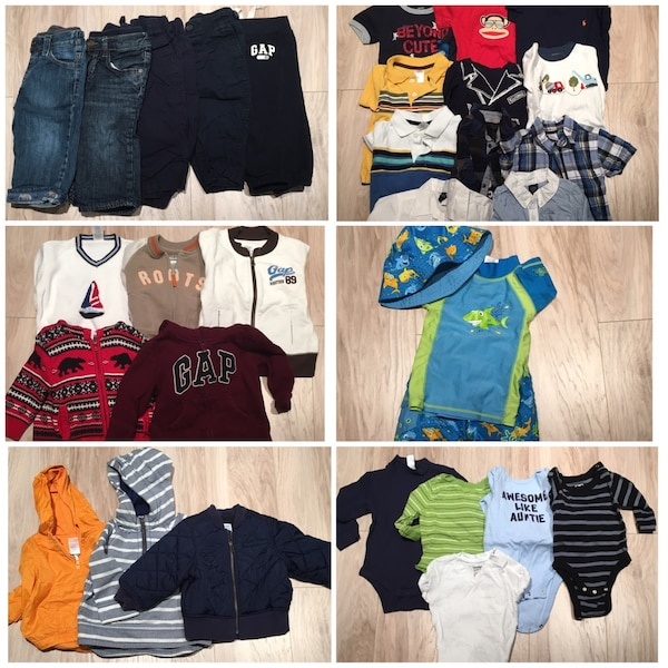 Infant boys clothes! 6-12/12-18 months old!