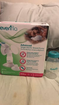 Evenflo single electric breast pump box Mississauga, L5B 0C8