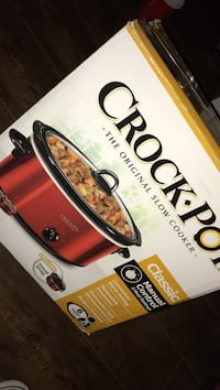 Crock pot slow cooker box Brea, 92821