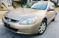 $2900 * Very Firm Price** 2003 Honda Accord Leather Heated Seats Silver Spring, 20902