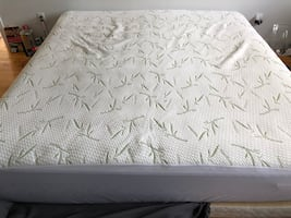 King Mattress with box spring