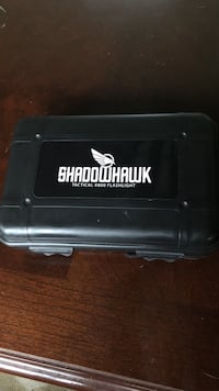 Shadowhawk x800 flashlight. Used like new, included charger and case   Lookout Mountain, 30750