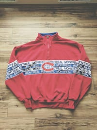 Sz L Starter Montreal Canadiens Sweater
