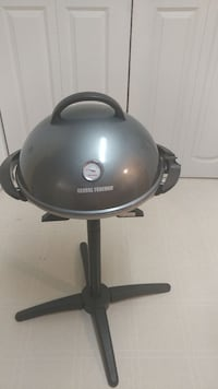 gray George Foremax charcoal grill Stafford, 22554