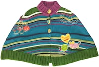 GAGOU TAGOU Multicolor Cape Toddler Girls Size 12-24 Months MONTREAL
