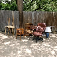 brown wooden table with chairs Arlington, 76011