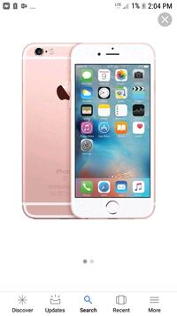silver iPhone 6 with case Abilene, 79601