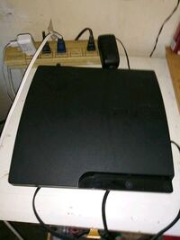 black Sony PS3 slim console Perris, 92570