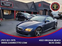 This 2008 BMW 6 Series is fully loaded! Virginia Beach