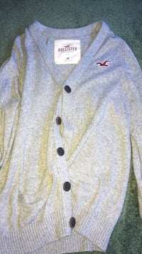 Authentic Men's Hollister Cardigan  Hamilton, 17202