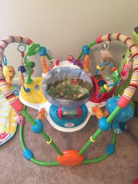 baby's multi colored jumperoo Virginia Beach