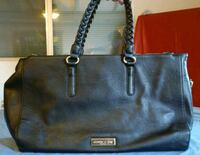 women's black leather tote bag Victorville, 92395