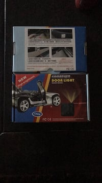 Car door lights for Audi