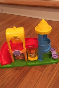 Little people playground toy set