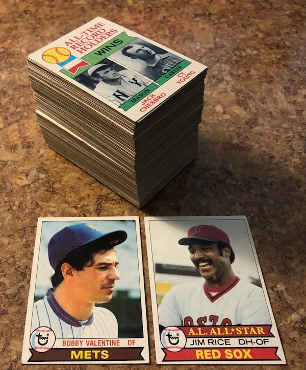 1979 Topps Baseball Cards 160 Card Lot Vg