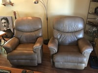 brown leather recliner sofa chair Portland, 97266