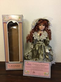 Porcelain Doll by Cathay Collections Collectible Doll Fullerton, 92831