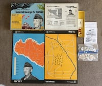 1974 Vintage Major Battle of George Patton Board Game Calgary, T2R 0S8