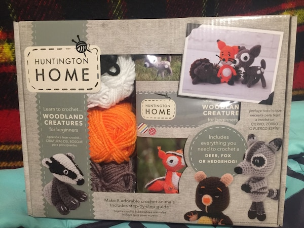 Crochet Kit/Arts & Crafts (includes all materials and guidebook)