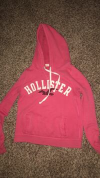 red and white zip-up hoodie Sanger, 93657