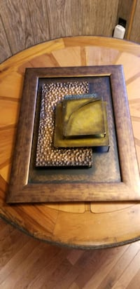 Hammered Tin Artwork Picture