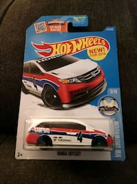 Honda Odyssey HotWheels Car Collectible 115/250 Charleston, 29414