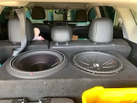 Rockford T-1000 & 15 inch Subs Stockton, 95207
