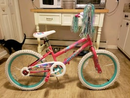 Girls bicycle,  never ridden