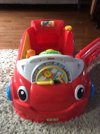Fisher-price walked around car Barrie, L4M 0G2