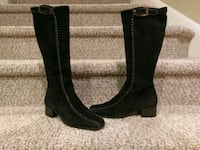 pair of black leather boots Woodbridge, 22193