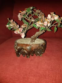 Artificial cherry blossom bonsai tree
